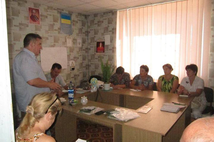 Херсонский ресурсный центр провёл мини-семинар для первой объединенной громады в области