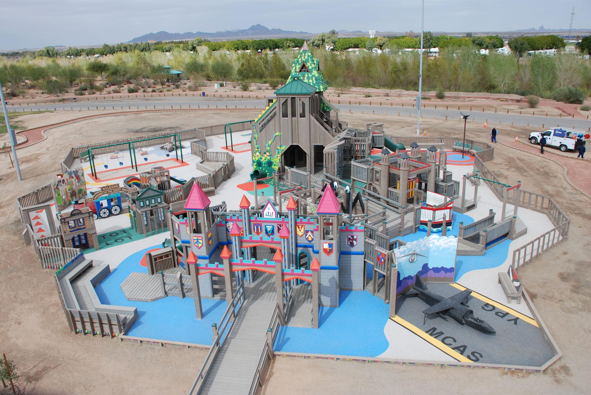Проект серед громад на встановлення інклюзивних дитячих майданчиків
