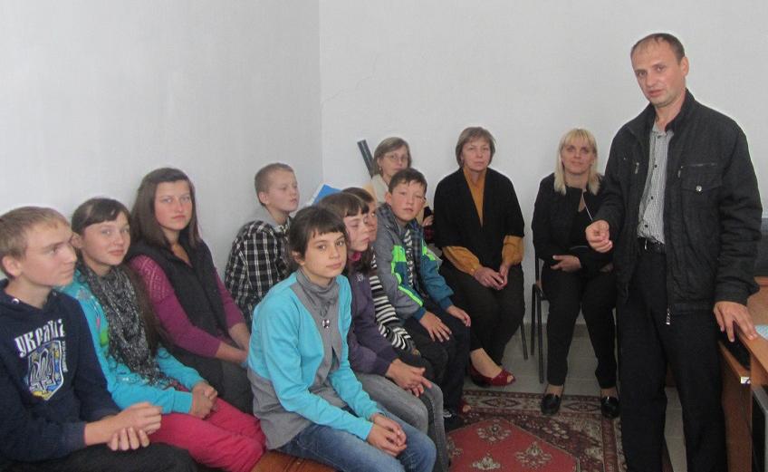 «Уроки децентралізації»  розпочалися  в школах у Перемишлянському районі Львівщини