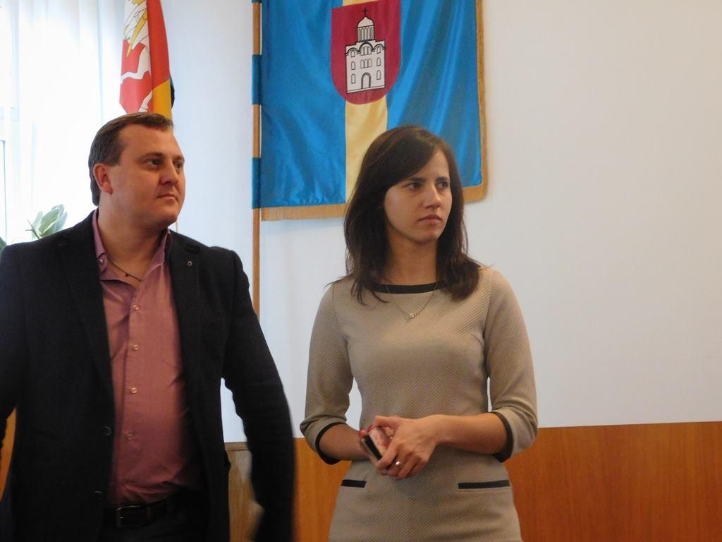 Андрій Осіпов та Ірина Гайдучик