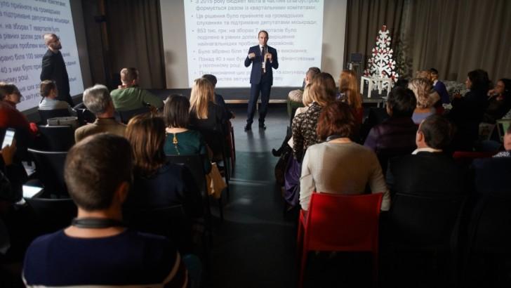 Мер, який зміг: Юрій Бова про ОСНи, бюджет участі і управління Тростянцем