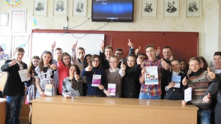 Педагоги, учні і студенти Сватівщини дізналася про переваги децентралізації