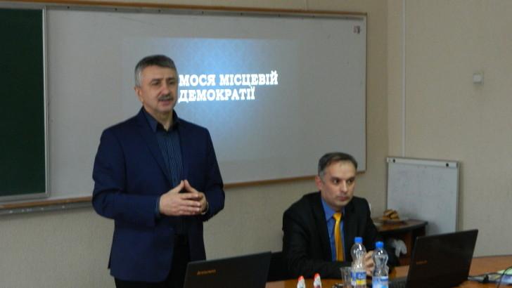 Представники територіальних громад Чернігівської області навчались як підвищити ефективність своєї роботи