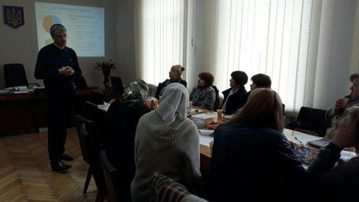 У місті Устилузі навчали проектному менеджменту та обговорювали перспективи створення ОСББ