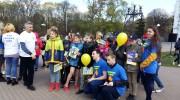 До 300 чернігівських дітей отримали свій світлоповертач!