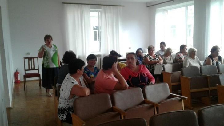 Тренінг зі створення та роботи ОСББ у Княгининівській об'єднаній територіальній громаді