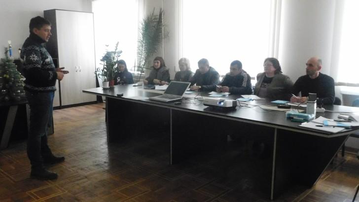 Депутати та працівники Люблинецької ради вчилися здійснювати  свою діяльність публічно та прозоро
