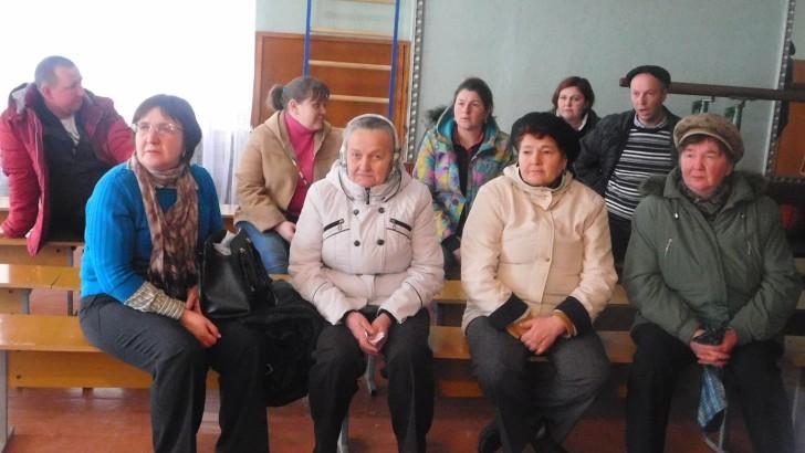 У Дубовому говорили про необхідність самоорганізації в умовах об'єднання