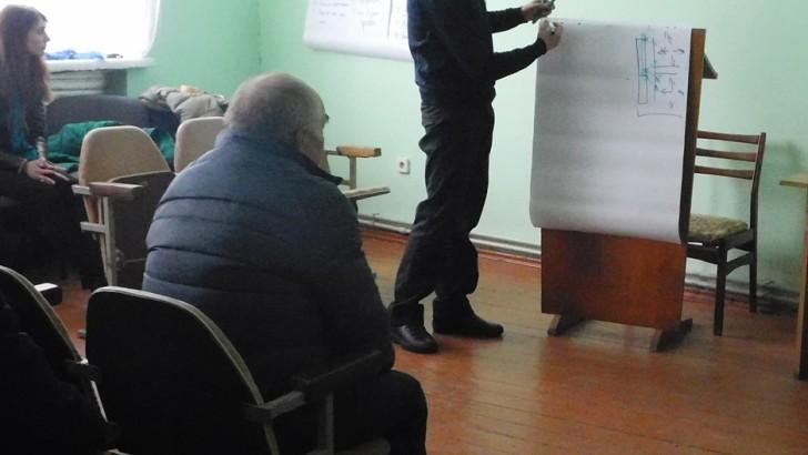 У Люблинці говорили про роль самоорганізації у системному розвитку громад