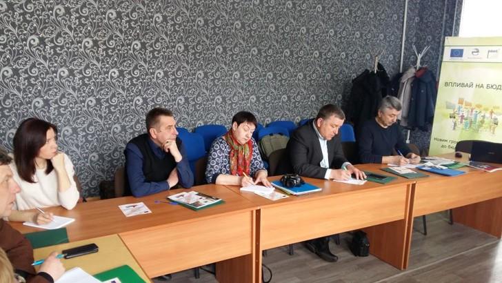 Журналісти Чернігівщини зможуть писати про бюджет доступно і зрозуміло