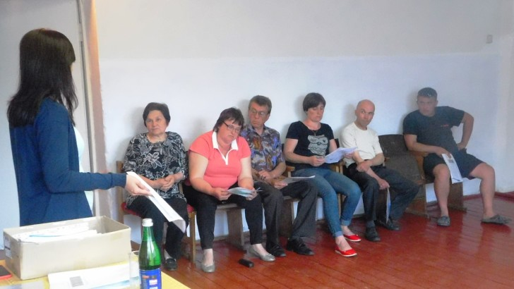 У Дубівській ОТГ навчали використовувати інструменти  прямої демократії – загальні збори та громадські слухання  та здійснювати громадський контроль